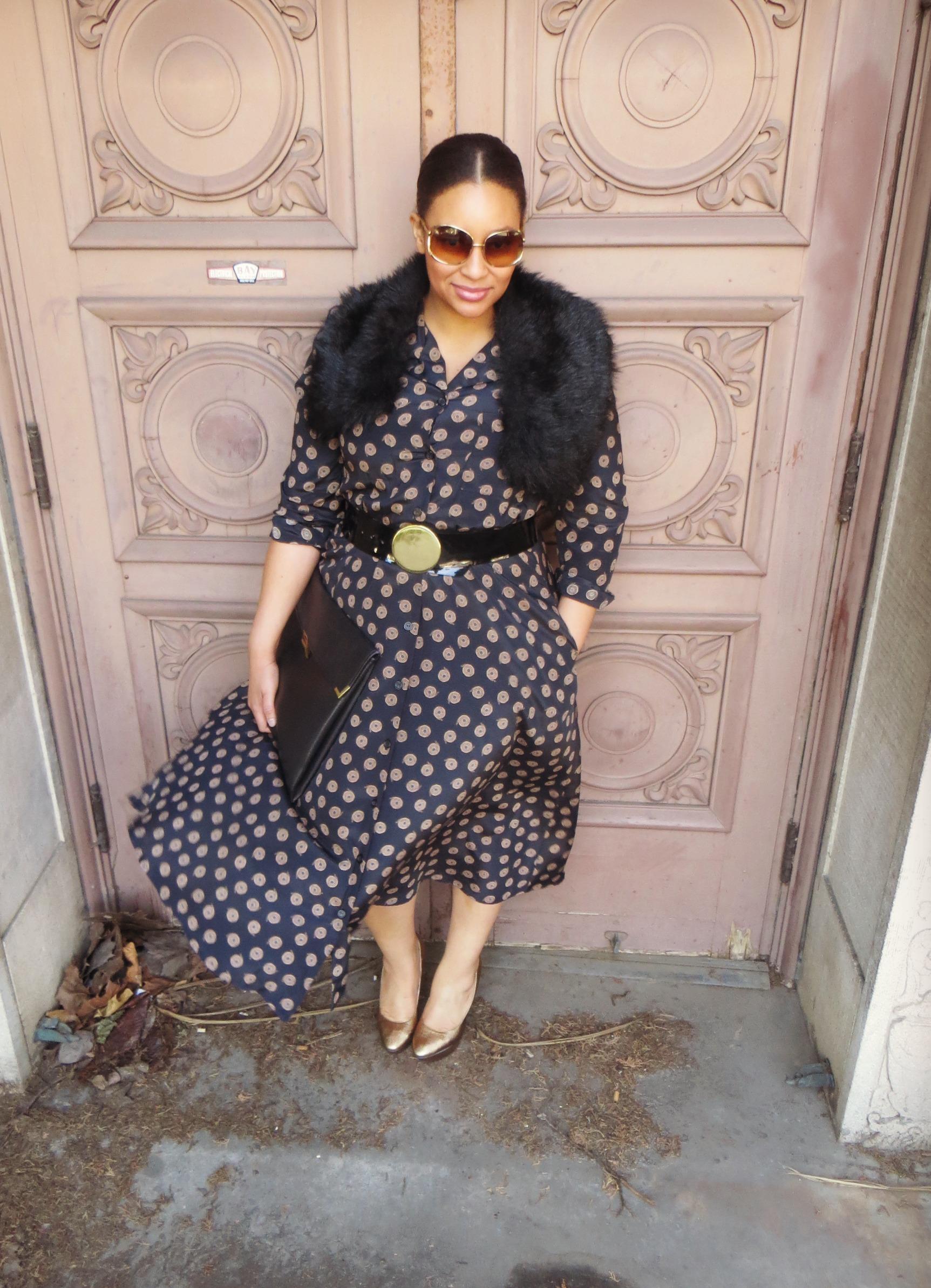 Vintage Reproduction Dress
