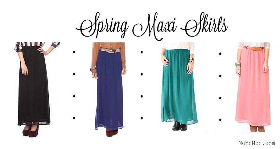 Modest Skirt: Forever 21 Maxi Skirts