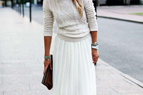 Maxi dress in winter tumblr images
