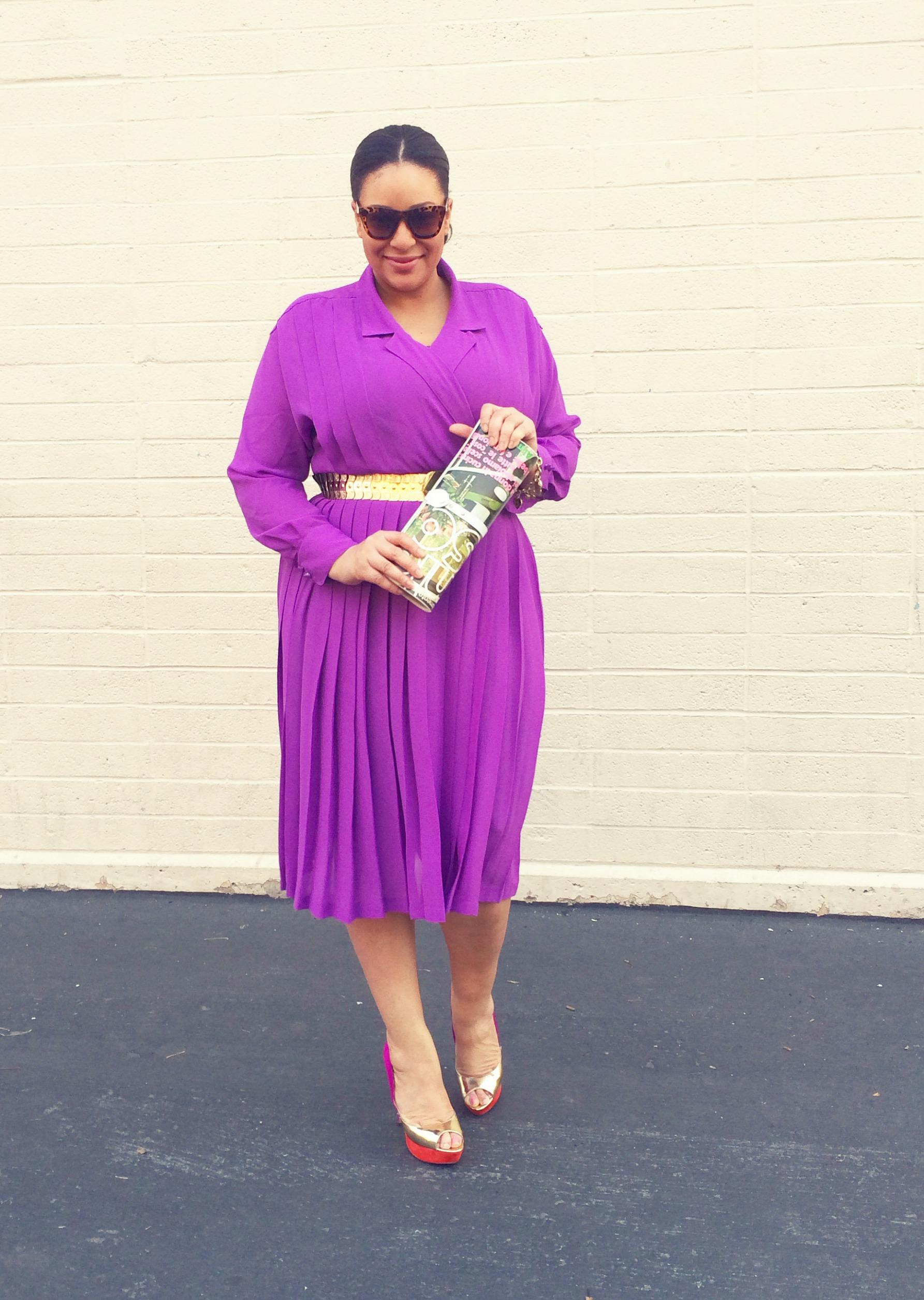 This Purple Chaus Dress