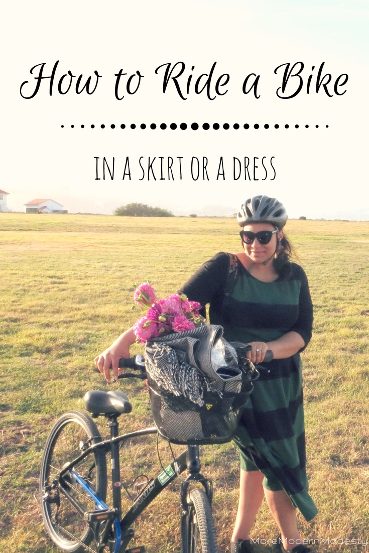 How to Ride a Bike in a Skirt