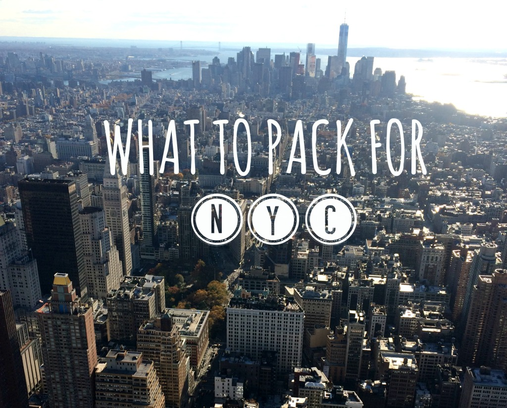 What to Pack for NYC