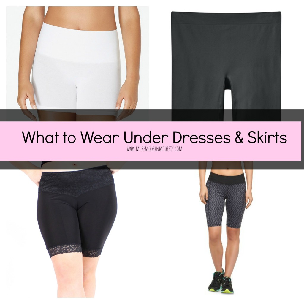 What to Wear Under Dresses and Skirts